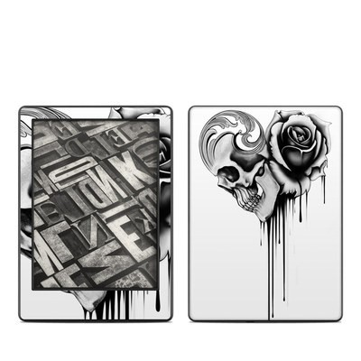 Amazon Kindle 8th Gen Skin - Amour Noir