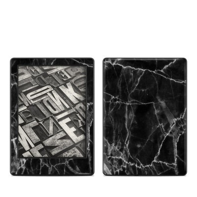 Amazon Kindle 8th Gen Skin - Black Marble