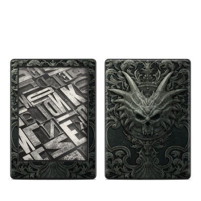 Amazon Kindle 8th Gen Skin - Black Book