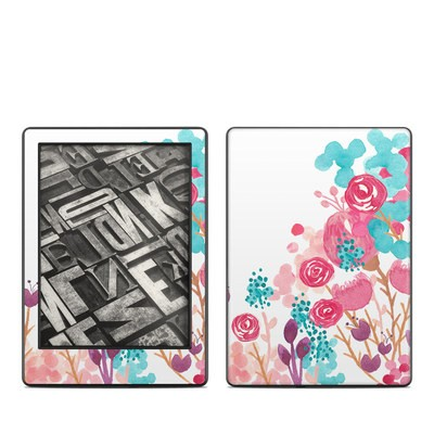 Amazon Kindle 8th Gen Skin - Blush Blossoms