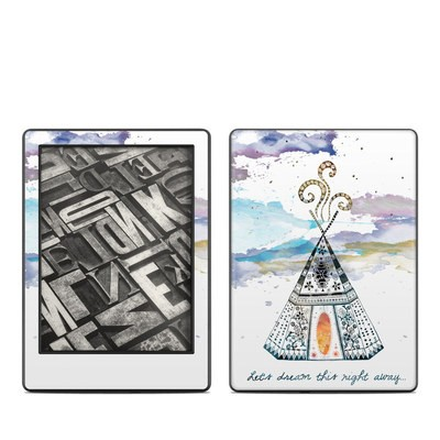 Amazon Kindle 8th Gen Skin - Boho Teepee