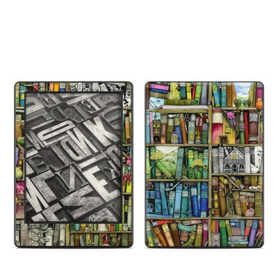 Amazon Kindle 8th Gen Skin - Bookshelf