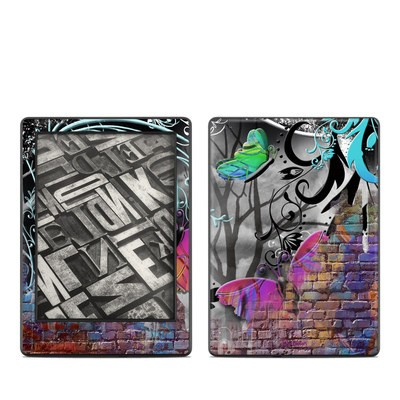 Amazon Kindle 8th Gen Skin - Butterfly Wall