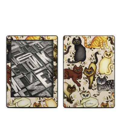 Amazon Kindle 8th Gen Skin - Cats