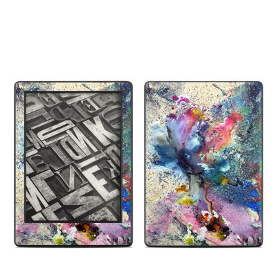 Amazon Kindle 8th Gen Skin - Cosmic Flower