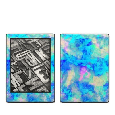 Amazon Kindle 8th Gen Skin - Electrify Ice Blue