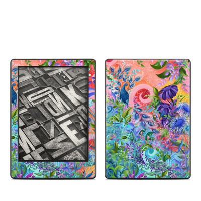 Amazon Kindle 8th Gen Skin - Fantasy Garden