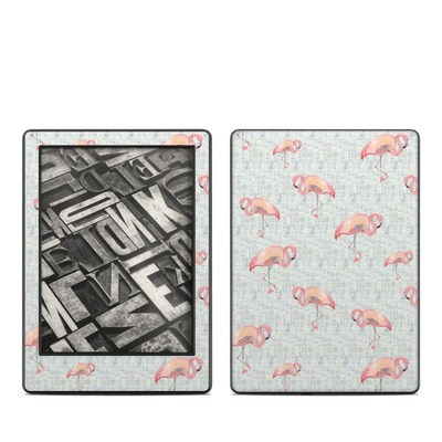 Amazon Kindle 8th Gen Skin - Flamingo Mosaic