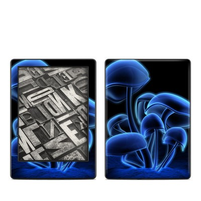 Amazon Kindle 8th Gen Skin - Fluorescence Blue
