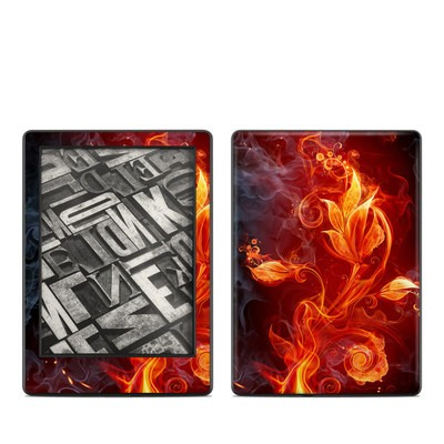 Amazon Kindle 8th Gen Skin - Flower Of Fire