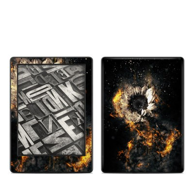 Amazon Kindle 8th Gen Skin - Flower Fury