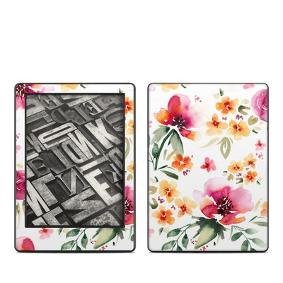 Amazon Kindle 8th Gen Skin - Fresh Flowers