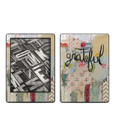 Amazon Kindle 8th Gen Skin - Grateful