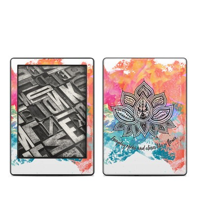 Amazon Kindle 8th Gen Skin - Happy Lotus