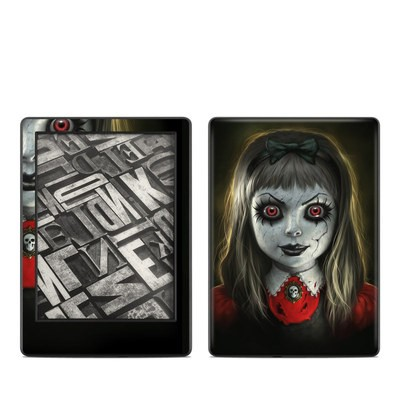 Amazon Kindle 8th Gen Skin - Haunted Doll