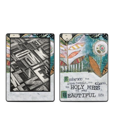 Amazon Kindle 8th Gen Skin - Holy Mess