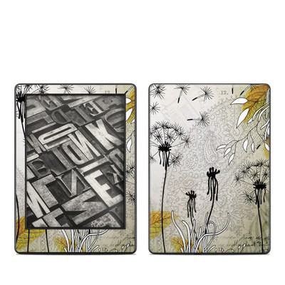 Amazon Kindle 8th Gen Skin - Little Dandelion