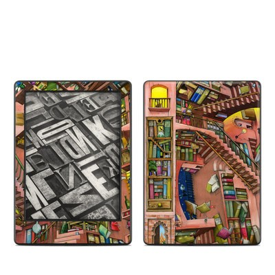 Amazon Kindle 8th Gen Skin - Library Magic