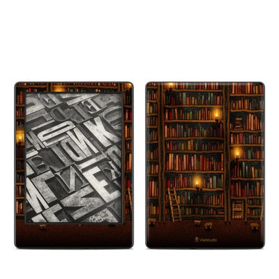 Amazon Kindle 8th Gen Skin - Library