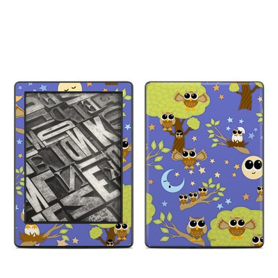 Amazon Kindle 8th Gen Skin - Owl Tree