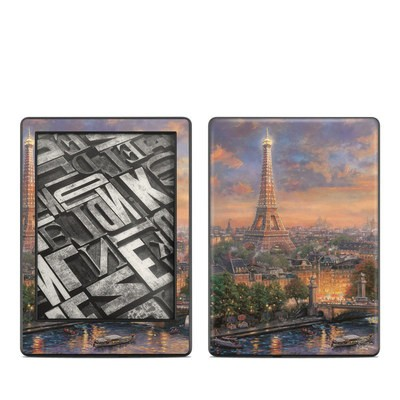 Amazon Kindle 8th Gen Skin - Paris City of Love