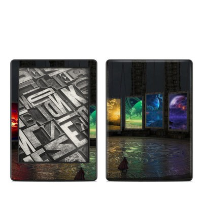 Amazon Kindle 8th Gen Skin - Portals