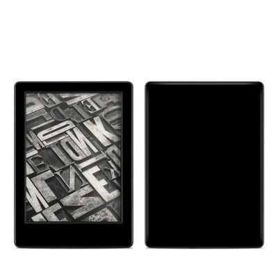 Amazon Kindle 8th Gen Skin - Solid State Black