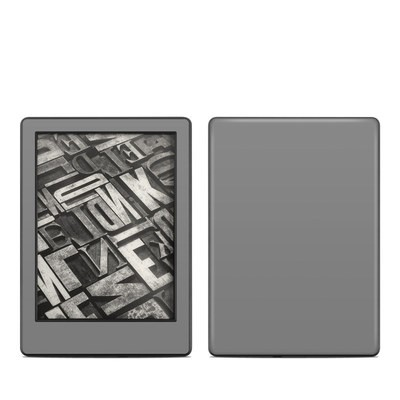 Amazon Kindle 8th Gen Skin - Solid State Grey