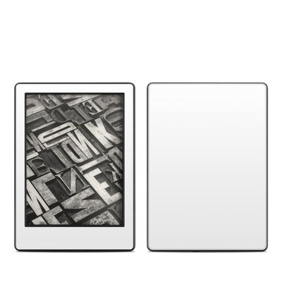 Amazon Kindle 8th Gen Skin - Solid State White