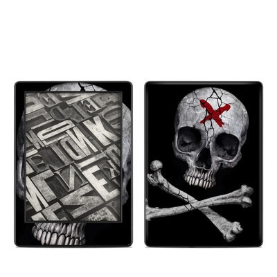 Amazon Kindle 8th Gen Skin - Stigmata Skull