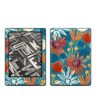 Amazon Kindle 8th Gen Skin - Sunbaked Blooms