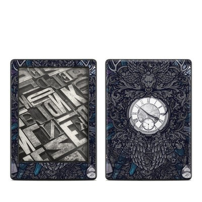 Amazon Kindle 8th Gen Skin - Time Travel