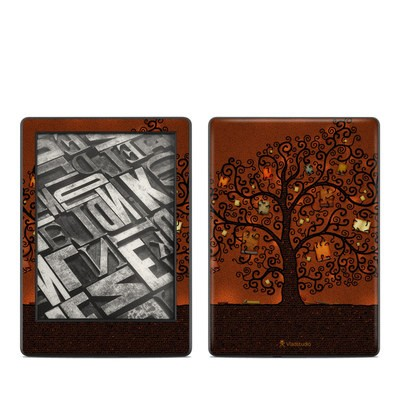 Amazon Kindle 8th Gen Skin - Tree Of Books