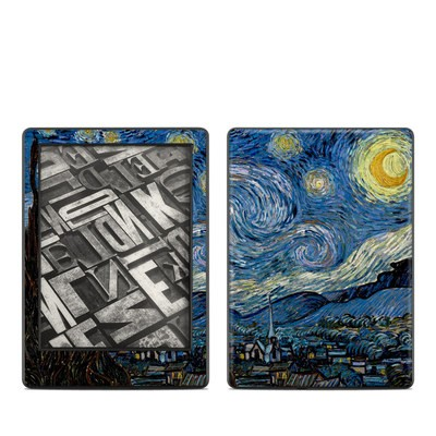 Amazon Kindle 8th Gen Skin - Starry Night