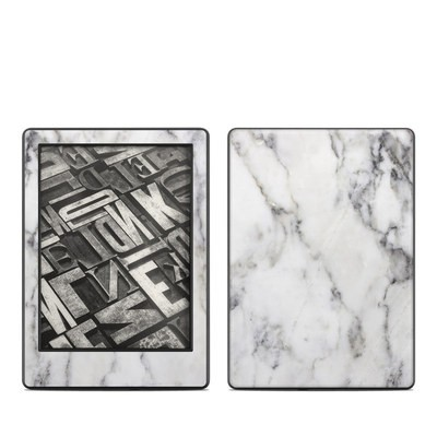 Amazon Kindle 8th Gen Skin - White Marble
