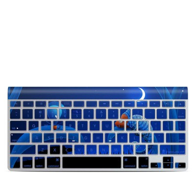 Apple Wireless Keyboard Skin - Alien and Chameleon