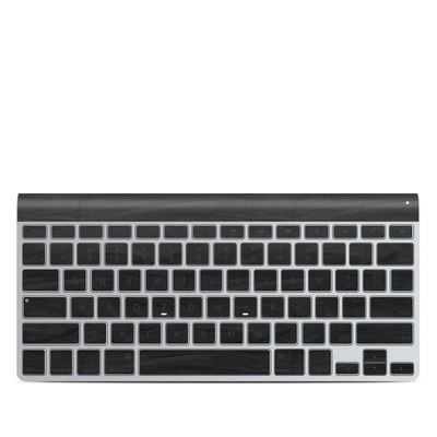 Apple Wireless Keyboard Skin - Black Woodgrain