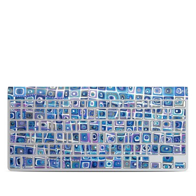 Apple Wireless Keyboard Skin - Blue Monday