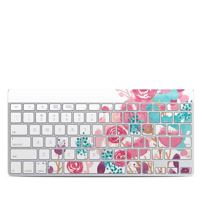 Apple Wireless Keyboard Skin - Blush Blossoms