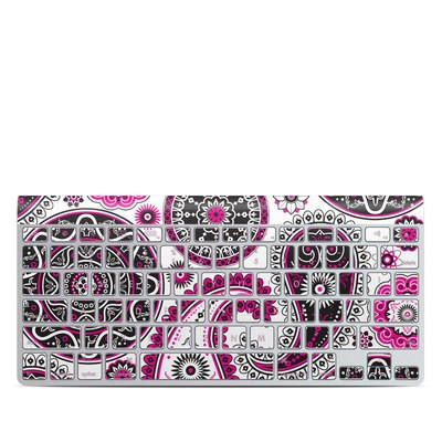 Apple Wireless Keyboard Skin - Boho Girl Paisley