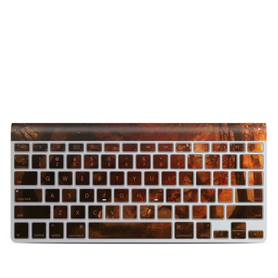 Apple Wireless Keyboard Skin - Canopy Creek Autumn