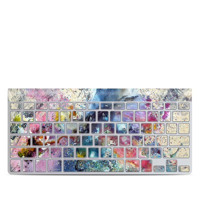 Apple Wireless Keyboard Skin - Cosmic Flower