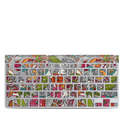 Apple Wireless Keyboard Skin - Doodles Color