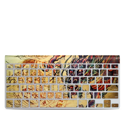 Apple Wireless Keyboard Skin - Dragon Legend