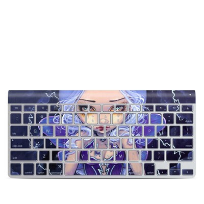 Apple Wireless Keyboard Skin - Dress Storm