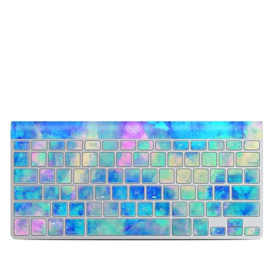 Apple Wireless Keyboard Skin - Electrify Ice Blue