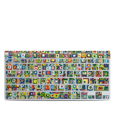 Apple Wireless Keyboard Skin - Line Dancing