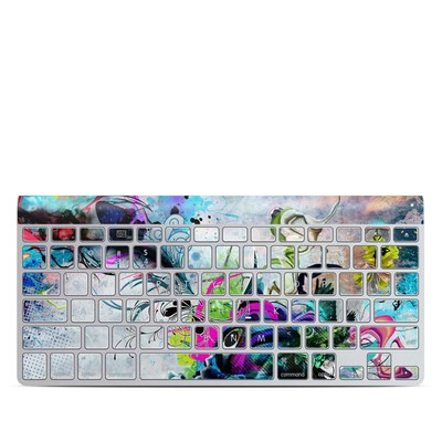 Apple Wireless Keyboard Skin - Streaming Eye