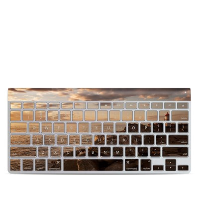 Apple Wireless Keyboard Skin - Sunset Beacon