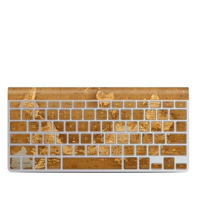 Apple Wireless Keyboard Skin - Upside Down Map